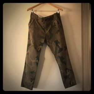 Joe's Jeans Camo Novelty Pant